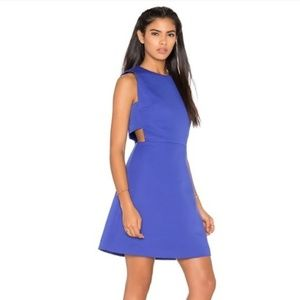 New KATE SPADE Side Cutout A-Line Mini Dress